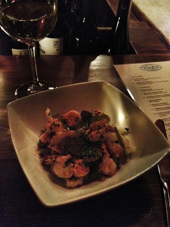 Octopus Salad @ Tia Pol